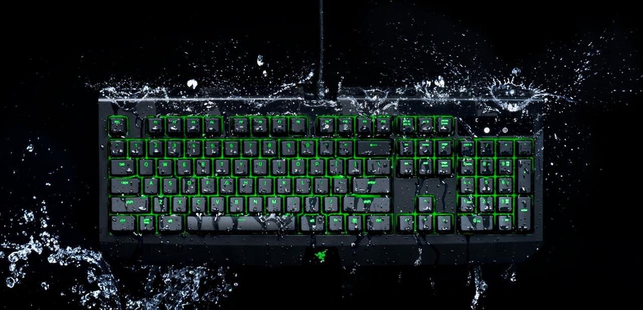 Razer présente un nouveau BlackWidow Ultimate, résistant à l'eau et à la poussière