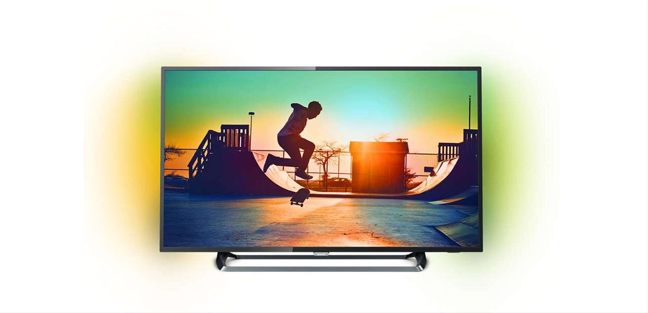"Smart TV 4K UHD Ambilight Philips de 49"" (HDR) : 449,99 €"