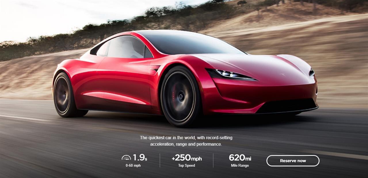Tesla Semi et Roadster, les deux annonces du fabricant