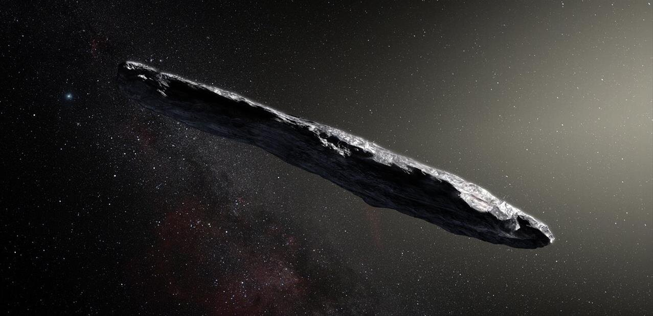 Le premier astéroïde interstellaire se dévoile et ne ressemble à aucun autre