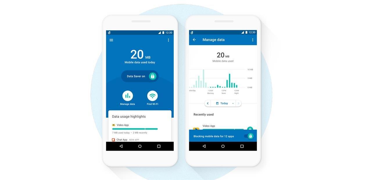 Datally, l'application de Google pour contrôler et économiser des données