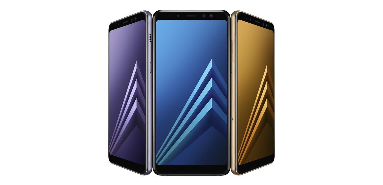 Samsung lance ses Galaxy A8 et A8+ (2018) : Infinity Display et deux caméras en façade