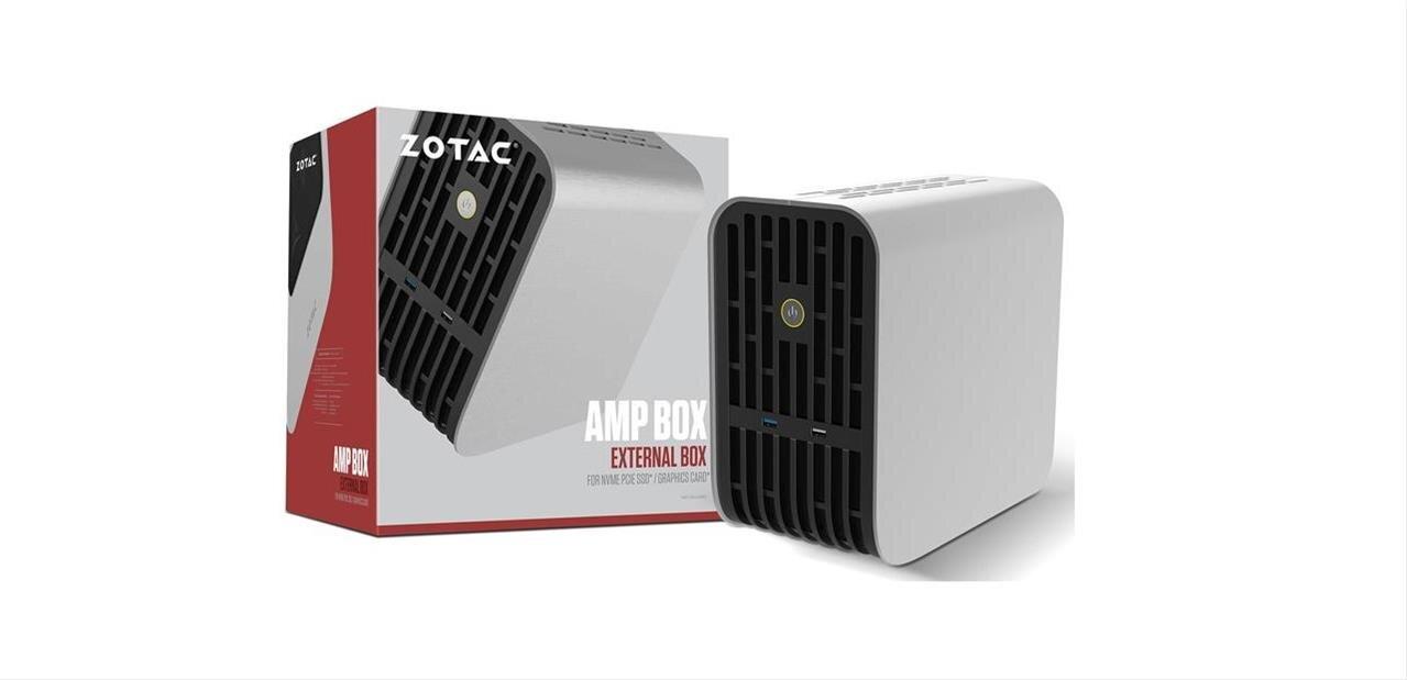 Amp Box (Mini) : Zotac proposera deux boîtiers Thunderbolt 3 pour cartes graphiques