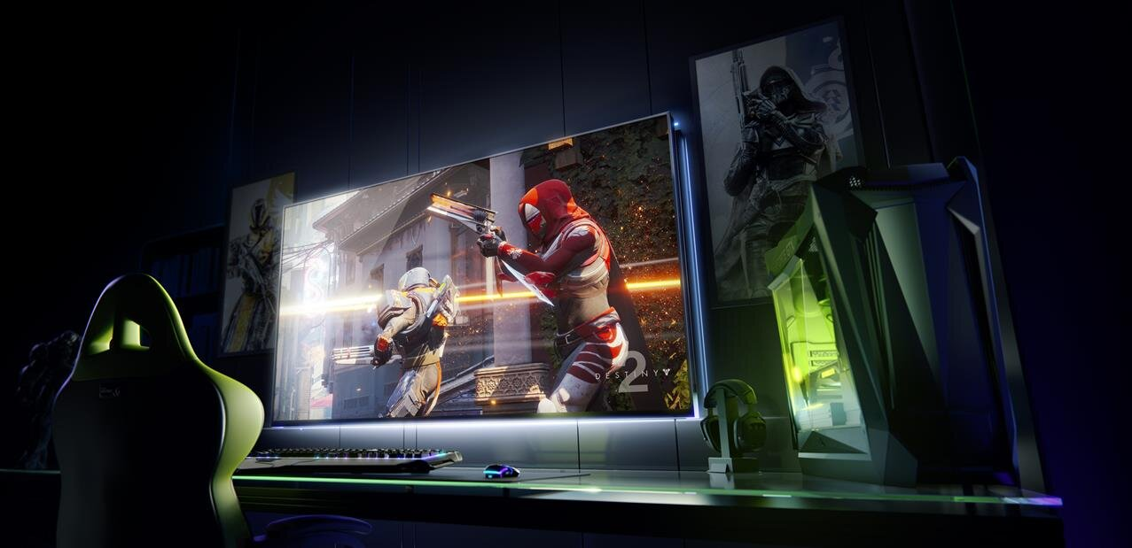 miniature NVIDIA : Big Format Gaming Display avec Shield et Android TV, GeForce Now sur PC avec Uplay