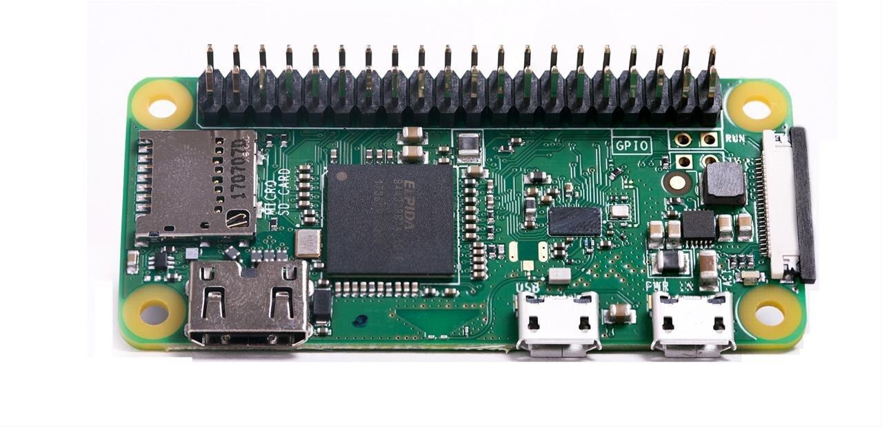 Raspberry Pi lance le Zero WH à 15 euros, des broches pour le connecteur GPIO