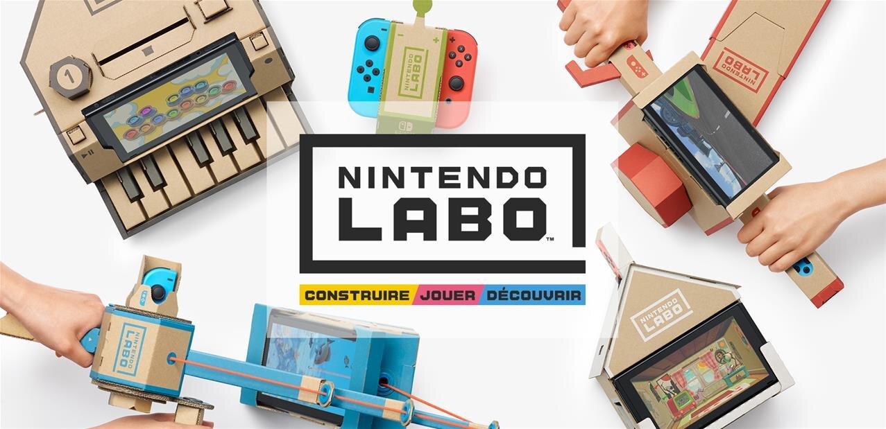 Nintendo enrichit sa Switch… de kits en carton