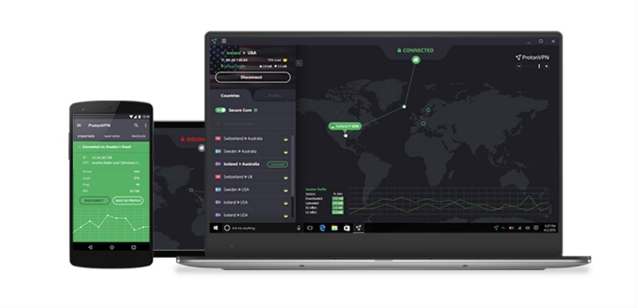 ProtonVPN lance son application Android, avec une version gratuite