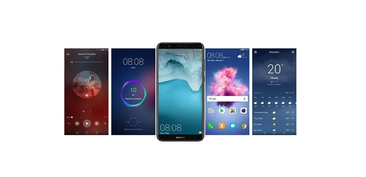 """Huawei P smart : un smartphone de 5,65"""" avec Android 8.0 pour 259 euros"""