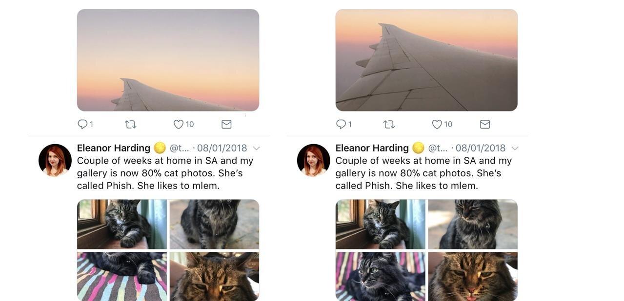Twitter explique comment sont retaillées les images dans le flux