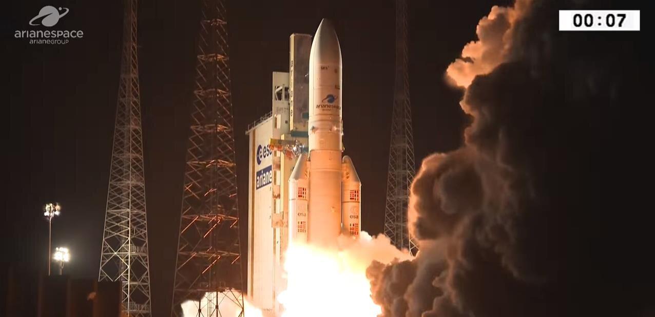 Ariane 5 : après une petite frayeur, les satellites sont en orbite… mais pas au bon endroit