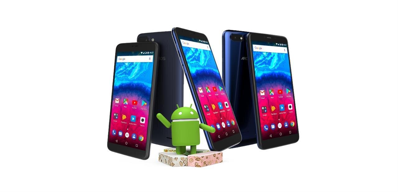 """Archos Core 55S, 57S et 60S : des smartphones « compacts » de 5,5 à 6"""", dès 89,99 €"""