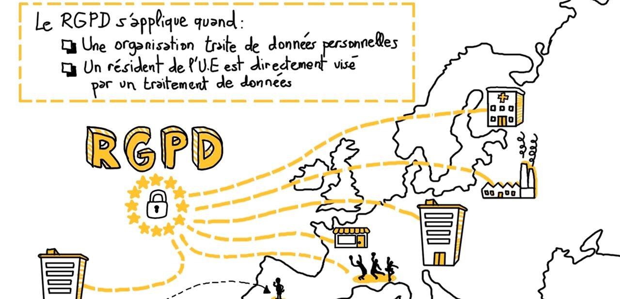Application du règlement général sur la protection des données : J-100