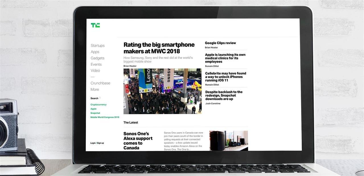 TechCrunch change de look