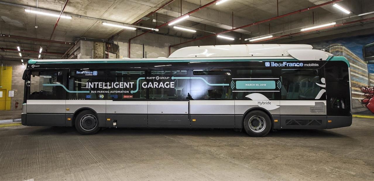 European Bus System of the Future 2 : garage autonome d'un bus avec la RATP et le CEA
