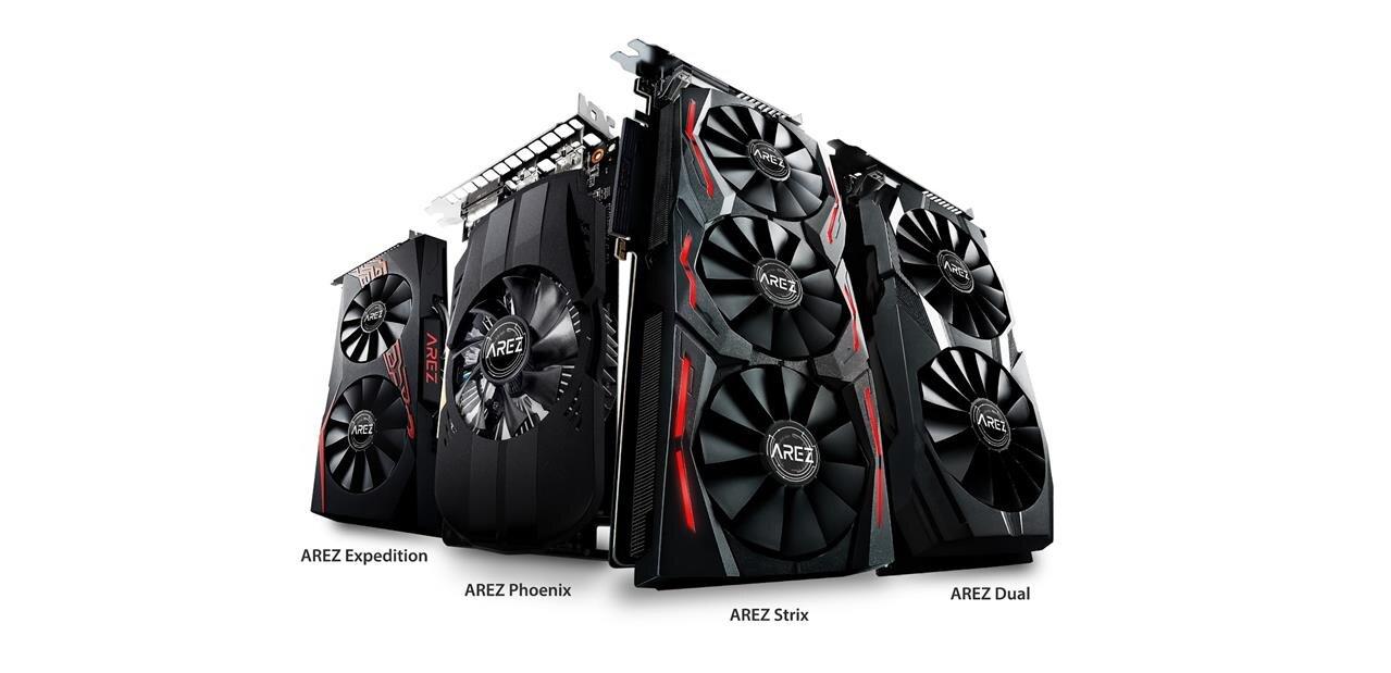 ASUS officialise sa gamme AREZ consacrée aux Radeon, AMD vante ses valeurs (mais se plaint)