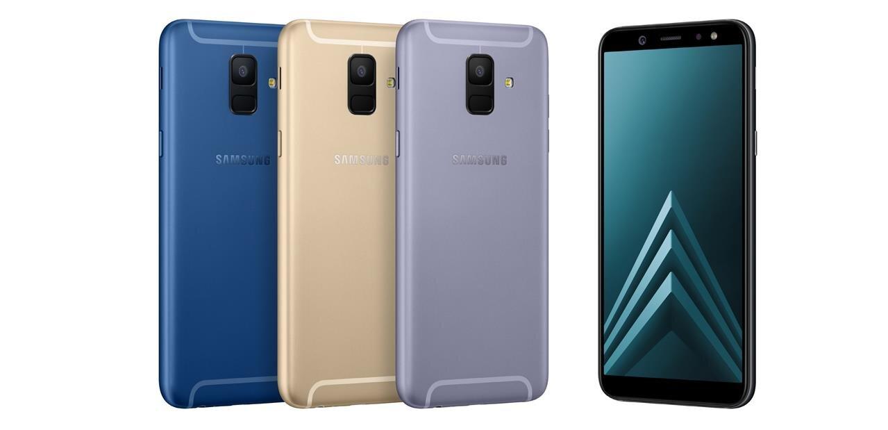 Samsung dévoile ses Galaxy A6 et A6+ de 5,6 et 6 pouces, avec Android 8.0