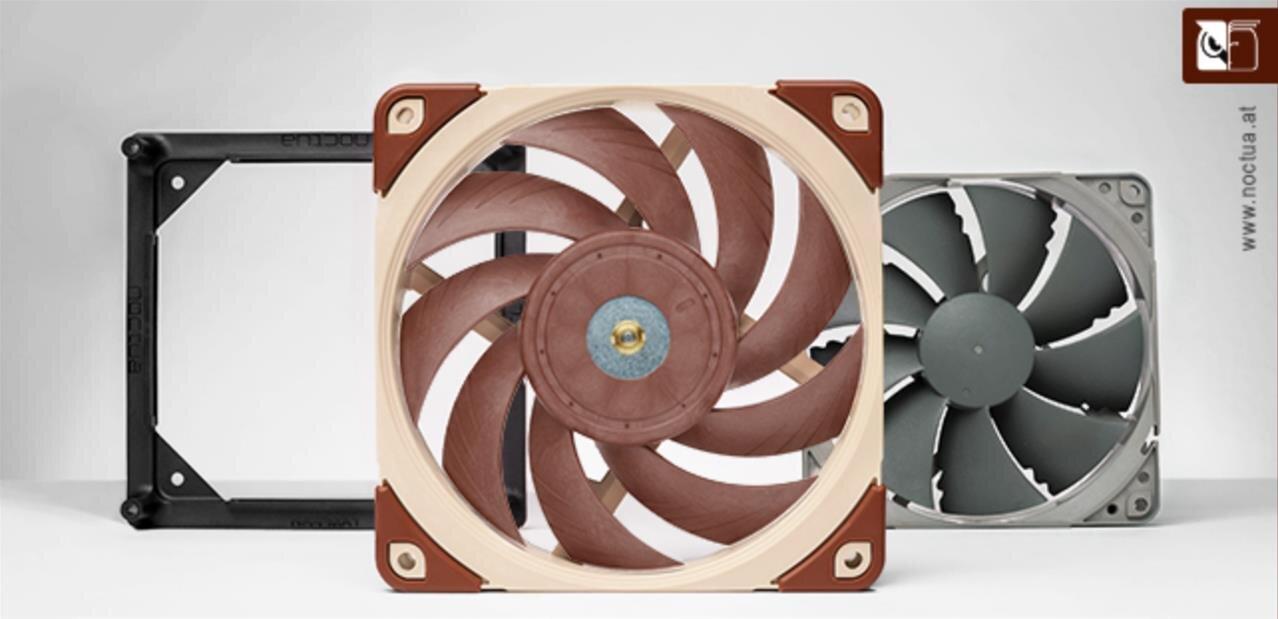 Le nouveau ventilateur Noctua NF-A12x25 (Sterrox) est disponible, pour 29,90 euros