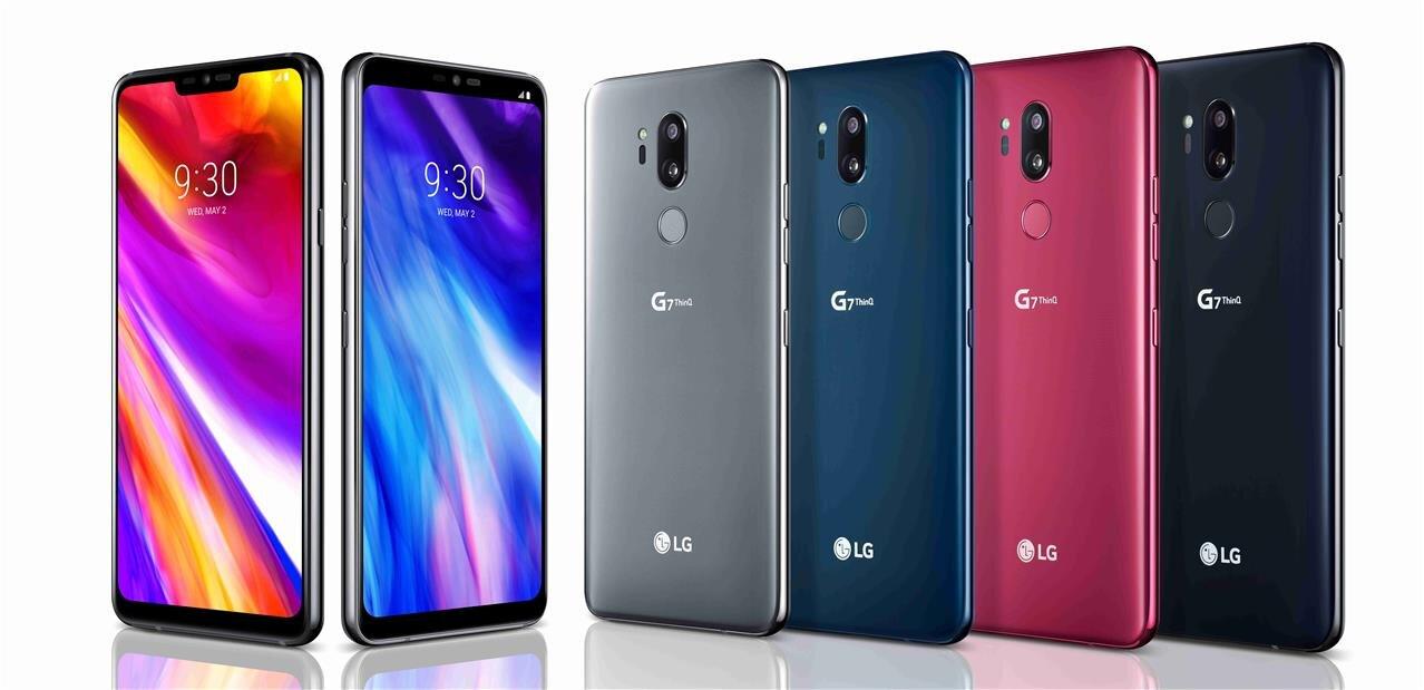 """LG dévoile son G7(+) ThinQ : écran de 6,1"""" avec « notch » et Snapdragon 845"""
