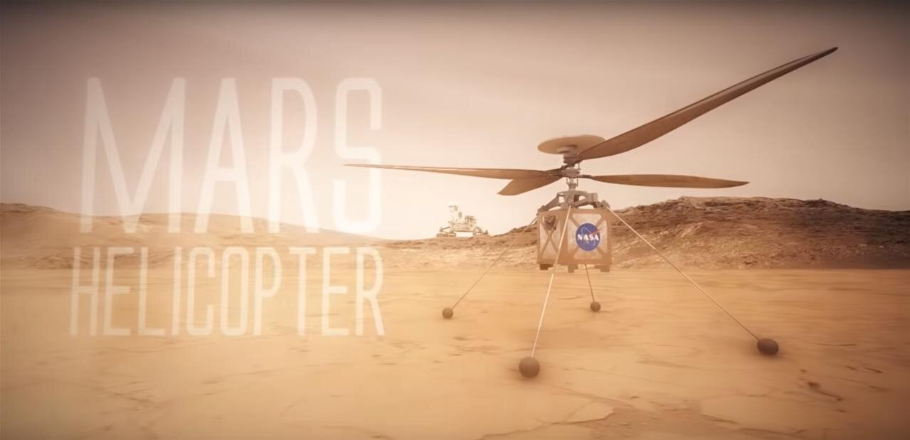 Mars : la NASA confirme qu'un hélicoptère sera lancé avec le rover Mars 2020