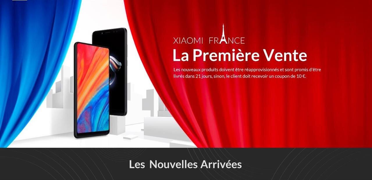 Xiaomi ouvre sa boutique en ligne en France, multiplie les partenariats et prépare le Mi 8