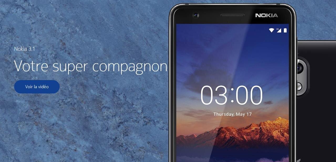 Nokia 2.1, 3.1 et 5.1 : du nouveau pour l'entrée de gamme Android