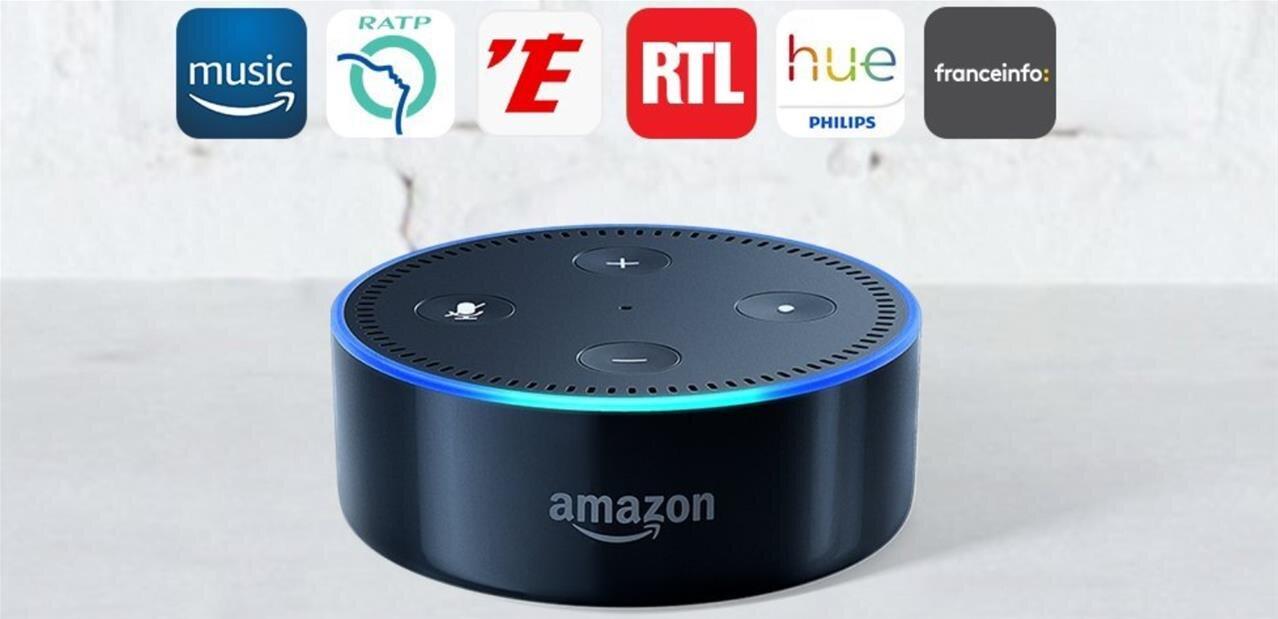 Les Amazon Echo, Dot et Spot arrivent en France, dès 29,99 euros