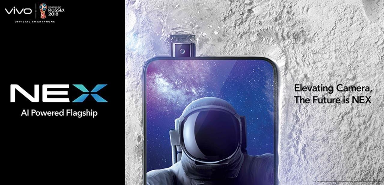 "Vivo Nex : un smartphone avec un écran de 6,59"" occupant 91,24 % de la face avant"