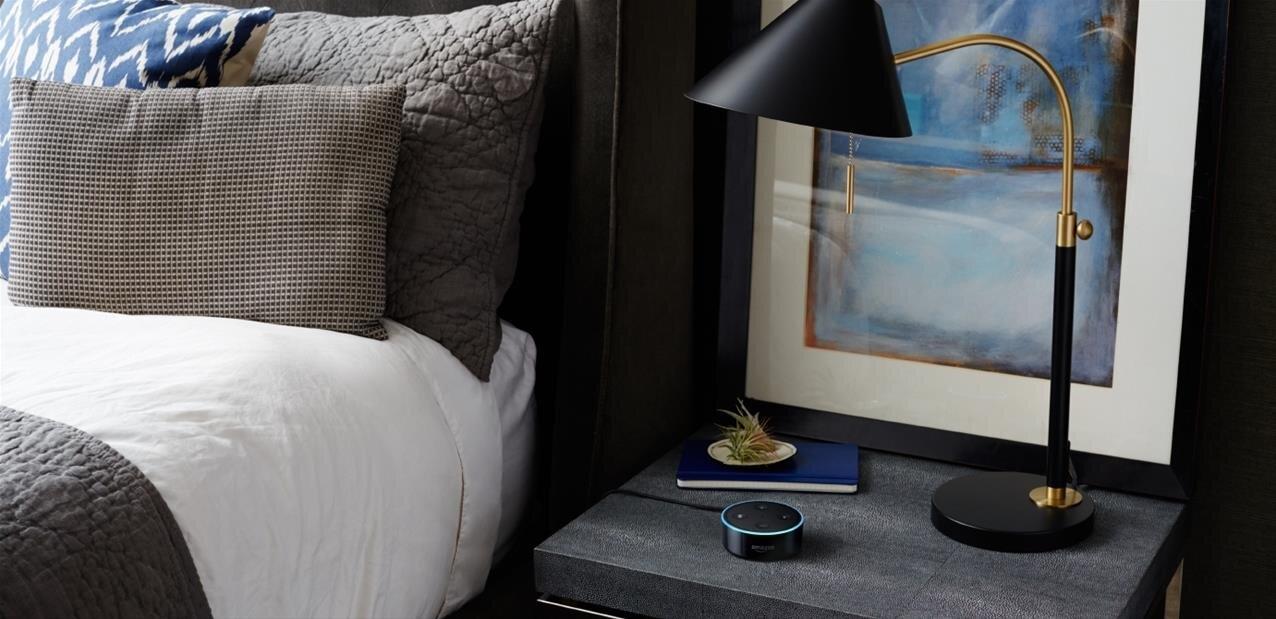 Alexa se décline dans une version spécialement pensée pour les hôtels