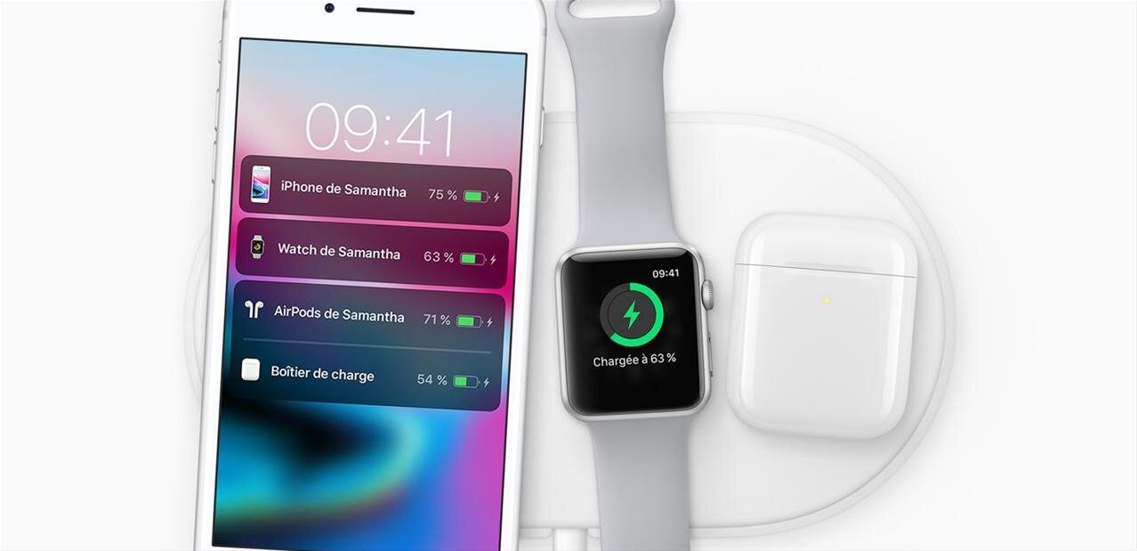 L'AirPower d'Apple n'arriverait qu'en septembre