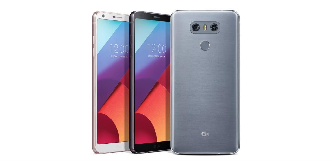 """Smartphone LG G6 de 5,7"""" (32 Go) : 279 € avec le code TOUT20"""