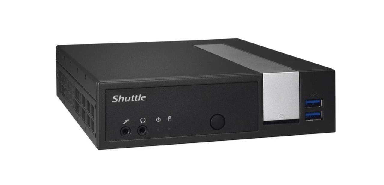 Shuttle DL10J : un Mini PC passif avec module 4G (M.2) en option