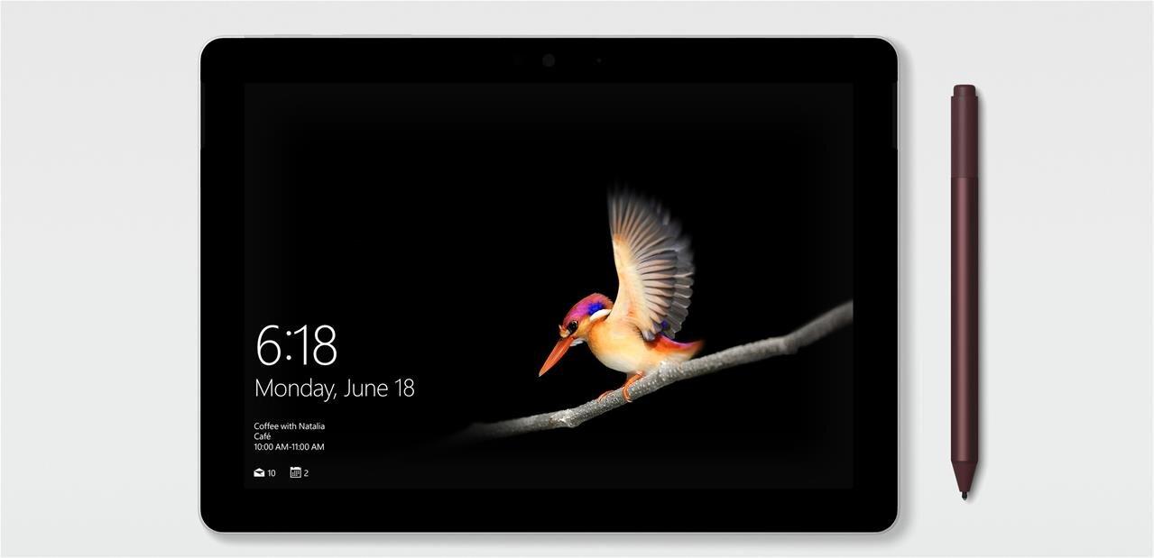 """Microsoft Surface Go : une tablette de 10"""" avec Pentium Gold, disponible le 2 août dès 399 dollars"""