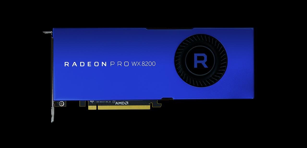 Radeon Pro d'AMD : WX 8200 à 999 $, nouveaux pilotes et équivalent de Wattman sous Linux