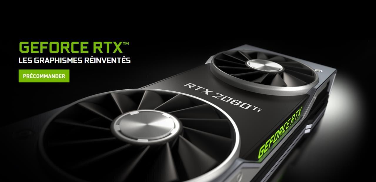 NVIDIA n'en finit plus de retarder la livraison de ses GeForce RTX 2080 Ti