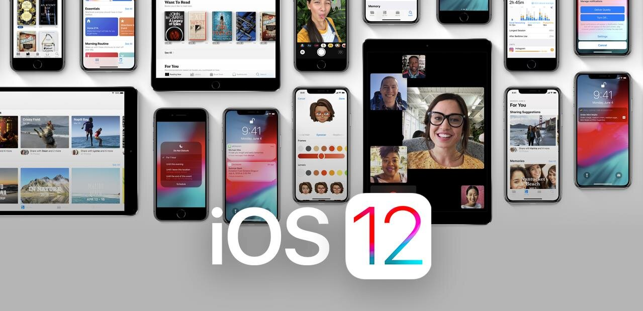 iOS 12, watchOS 5 et tvOS 12 disponibles en versions finales