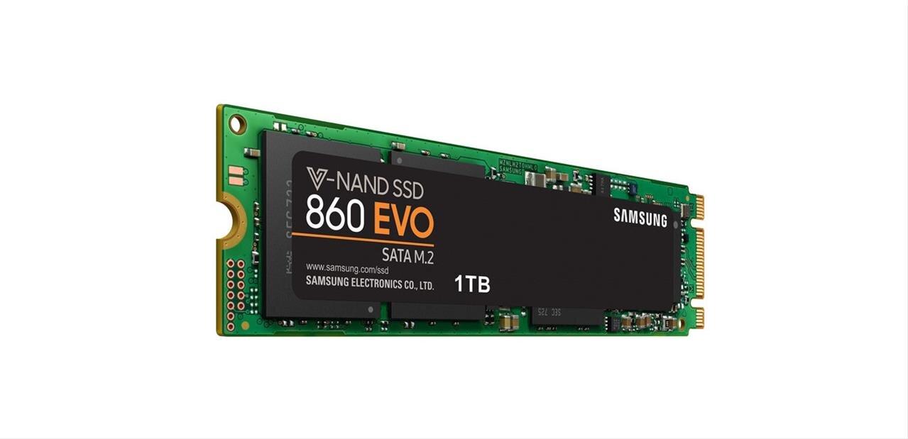 SSD M.2 Samsung 860 Evo de 1 To à 153,03 € avec le code CADEAU20