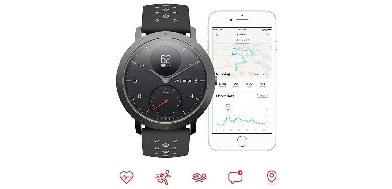 Steel HR Sport : la première montre connectée Withings depuis sa séparation de Nokia