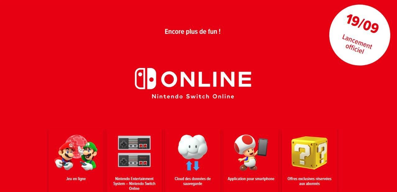 Nintendo lance Switch Online (sauvegardes cloud, jeux NES…) et le firmware 6.0