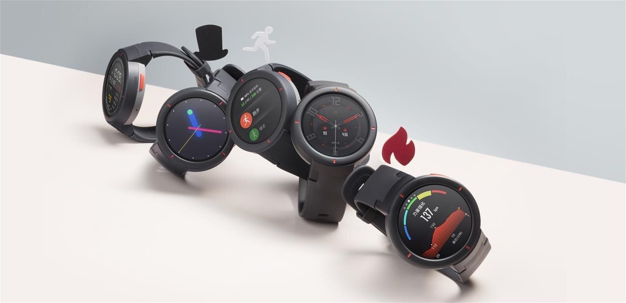 Xiaomi : montre Amazfit Verge, bracelet Amazfit Health Band 1S, les smartphones Mi 8 Pro et Lite