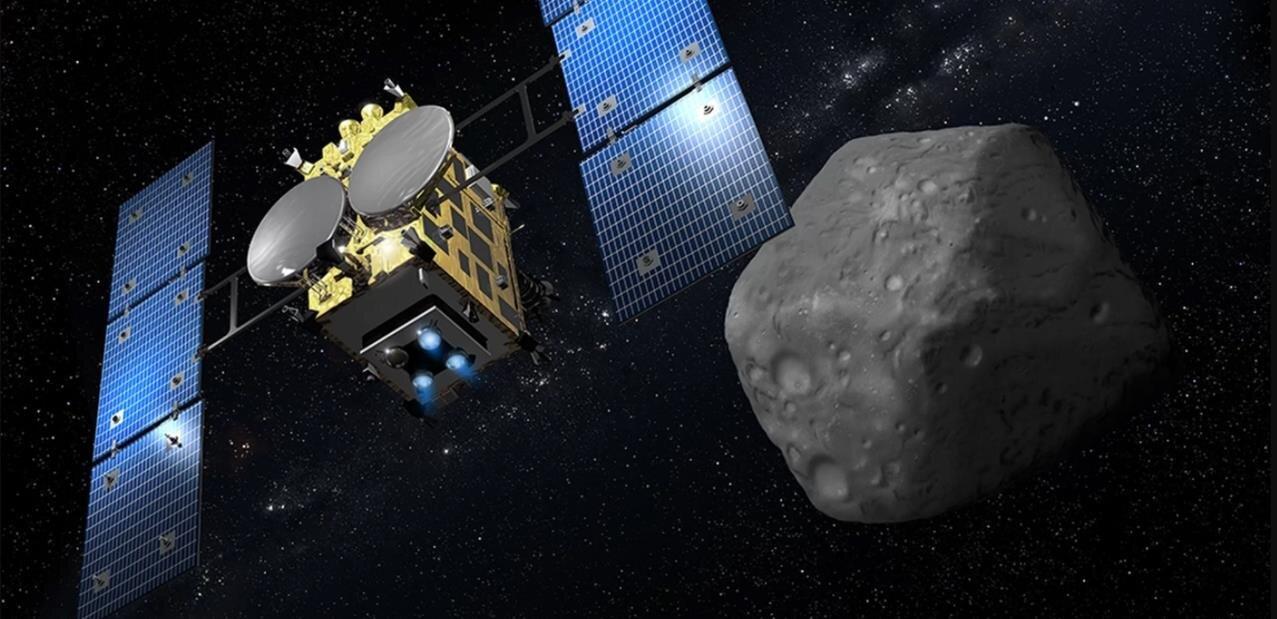 La sonde japonaise Hayabusa2 a largué un explosif sur l'astéroïde Ryugu