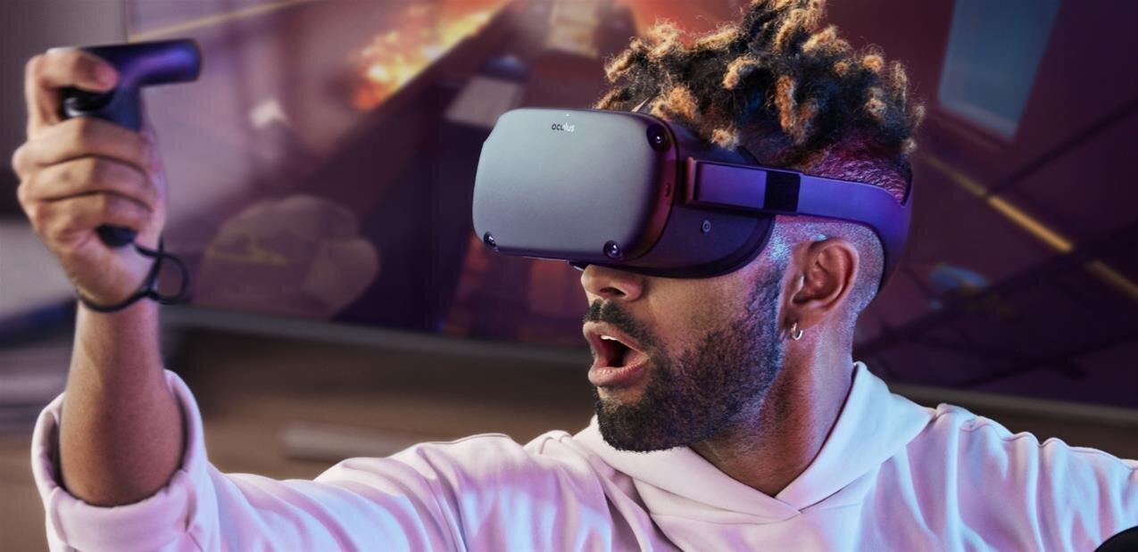 Voici l'Oculus Quest, un casque de VR autonome (Snapdragon 835), à partir de 399 dollars