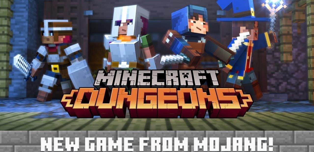 Minecon Earth 2018 : du neuf pour Minecraft, dont un Dungeons