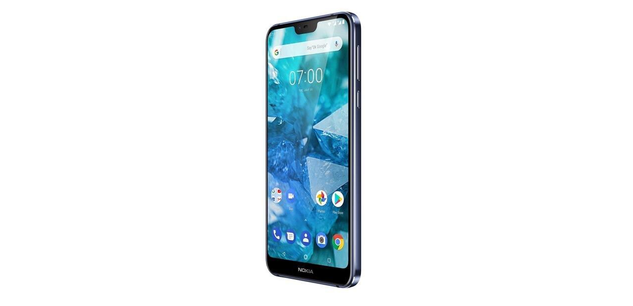Le Nokia 7.1 officialisé avec écran HDR10 et encoche