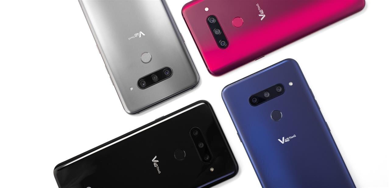 LG dévoile son smartphone V40 ThinQ avec cinq caméras et sa montre connectée hybride Watch W7