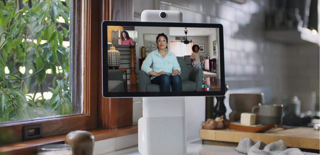 Facebook présente ses terminaux Portal(+) pour passer des appels vidéos, avec Alexa intégré