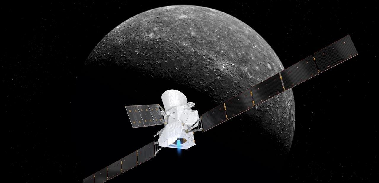 BepiColombo est passé à 12 700 km de la Terre et fait route vers Mercure