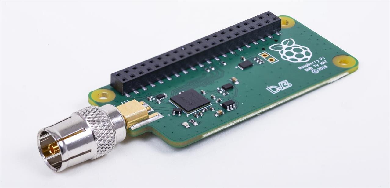 Un Tuner DVB-T2 (TNT seconde génération) officiel pour le Raspberry Pi