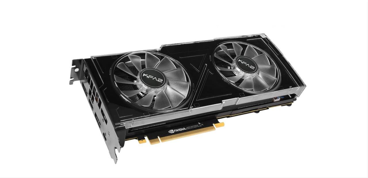 GeForce RTX 2080 OC de KFA2 à 749,90 euros avec le code JE50