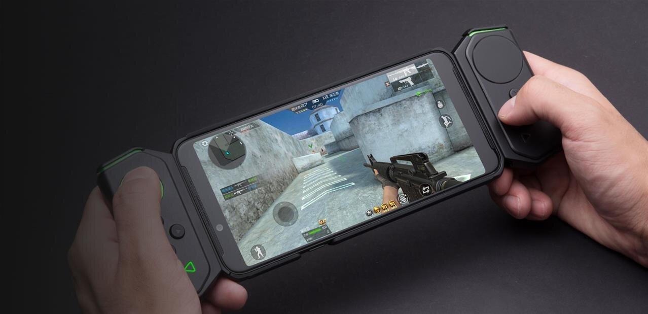 Black Shark (Xiaomi) dévoile le Helo, un smartphone pour joueurs avec des manettes façon Switch