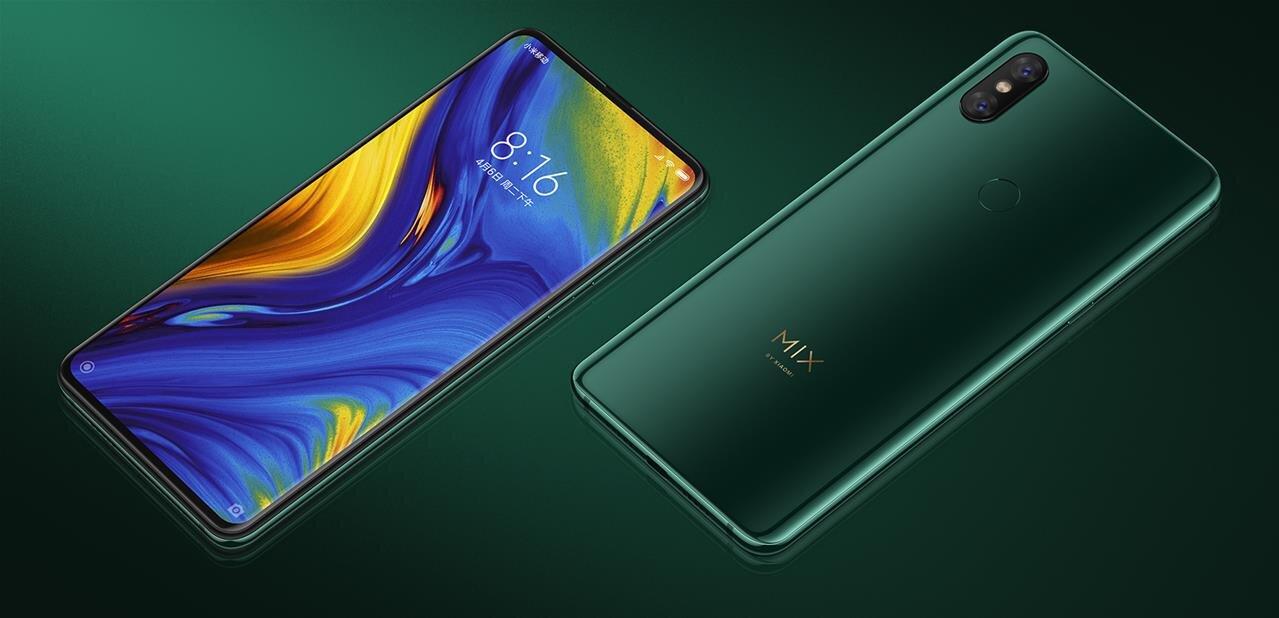 Xiaomi présente son Mi Mix 3 : écran sans bordure et capteurs rétractables, une version 5G en 2019